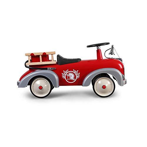 Baghera Porteur Camion de Pompier Multidirectionnel, Jouet pour Enfant 1 an et Plus, Speedster Rouge...