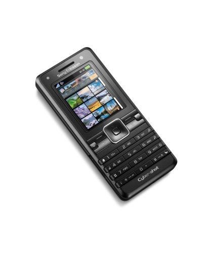 Sony Ericsson K770i UMTS Handy (Triband, Bluetooth, MP3-Player, 3MP-Kamera mit Autofokus, MemoryStickMicro-Kartenslot, Headset) schwarz