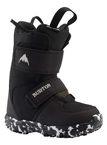 Burton Mini Grom - Botas de Snowboard para niño, Color Negro