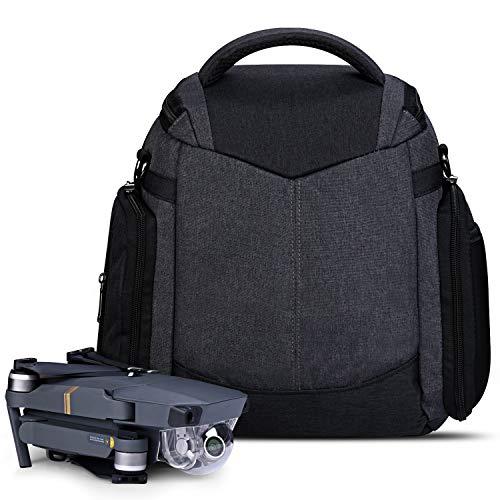 Estarer Travel Drone Backpack for DJI Mavic 2 Pro, Mavic 2 Zoom, Mavic Pro, Mavic Pro Platinum, Daily Waterproof Drone Carrying Case/Shoulder Bag