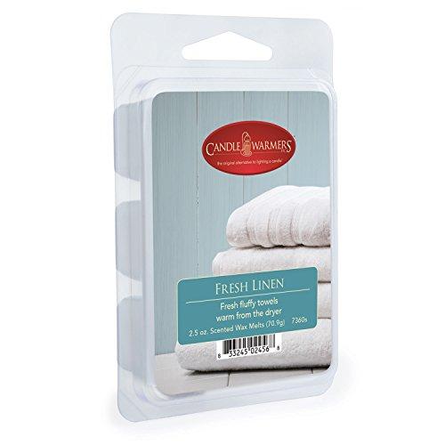 CANDLE WARMERS ETC Soy Wax Blend Classic Fragrance 2.5 oz Wax Fragrance Melt Tart, Warm Cinnamon Buns