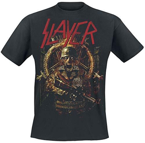 Slayer Comic Book Cover Männer T-Shirt schwarz 3XL 100% Baumwolle Band-Merch, Bands, Nachhaltigkeit