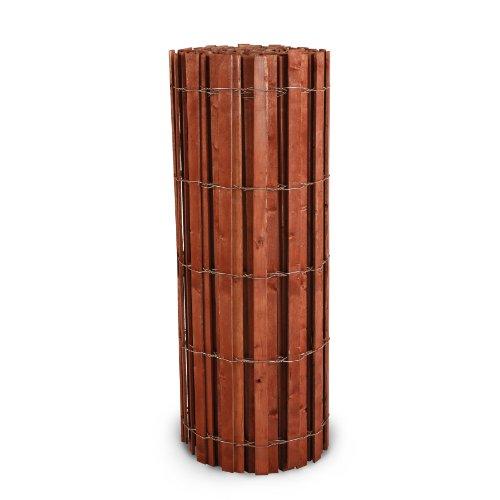 Hanes Geo Components 76441 Wooden Slat Snow Drift Fence, 4-Feet x 50-Feet