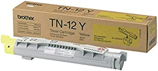 Brother TN12Yyellow Toner Cartridge photo