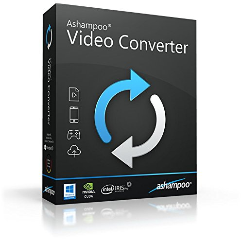 Ashampoo Video Converter deutsche Vollversion (Product Keycard ohne Datenträger)