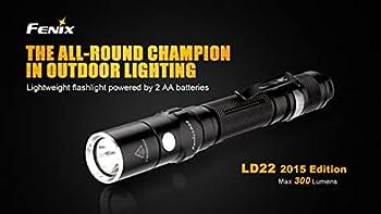 fenix LD22 Torche LED Mixte Adulte, Noir