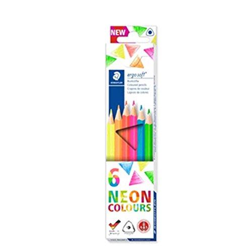 Buntstift ergosoft neon 6ST