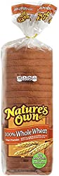Nature's Own 100% Whole Wheat Bread Loaf - 20 oz Bag