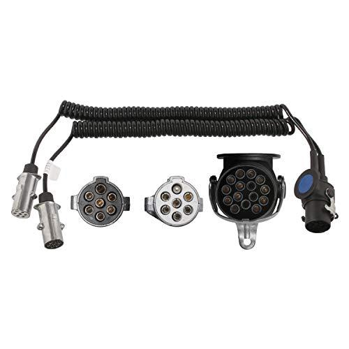 febi bilstein 21907 Adapterkabel für Elektrowendel, mit Metallstecker , 1 Stück