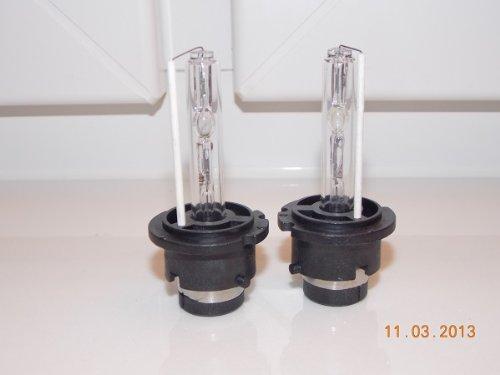 KfzTeileschnellVersand24 Lot de 2 ampoules xénon D2S avec marquage E 6000 K