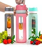 Pressa Bottle Squeeze System Fruit Infused Glass Water...