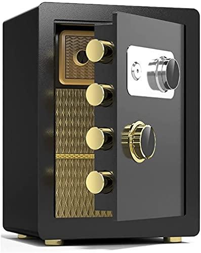 CXSMKP Caja fuerteSeguridad SafeFamily Storage Box Hotel Financial Filso Gabinete con Almohadillas de pie