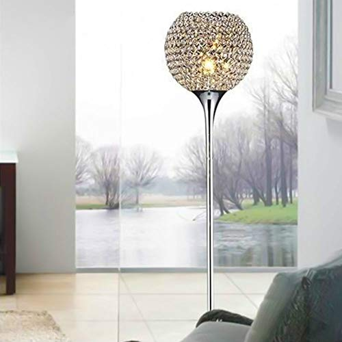 Koper Moderne kristallen staande lamp Interieur decoratieve Light Simple Creative Decoration