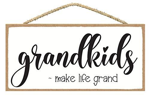 SARAH JOY'S Grandkids Make Life Grand Sign