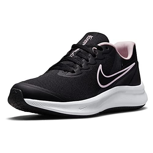 Nike Star Runner 3, Zapatillas de Gimnasio, Black/Black-dk Smoke Grey, 38 EU