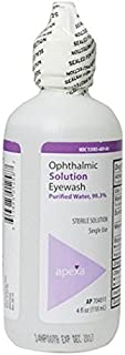 Irrigation Solution Sterile Eye Wash with Boric Acid - 4oz