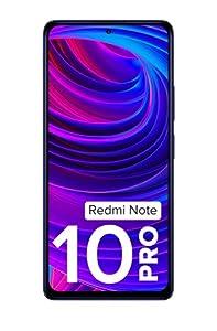 Redmi Note 10 Pro (Dark Nebula, 6GB RAM, 128GB Storage) -120hz Super Amoled Display|64MPwith 5mp Super Tele-Macro, Normal