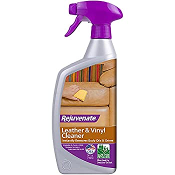 Rejuvenate Leather & Vinyl Cleaner – Rehydrate Restore Luster and Protect All Leather & Vinyl Surfaces with No Greasy Residue