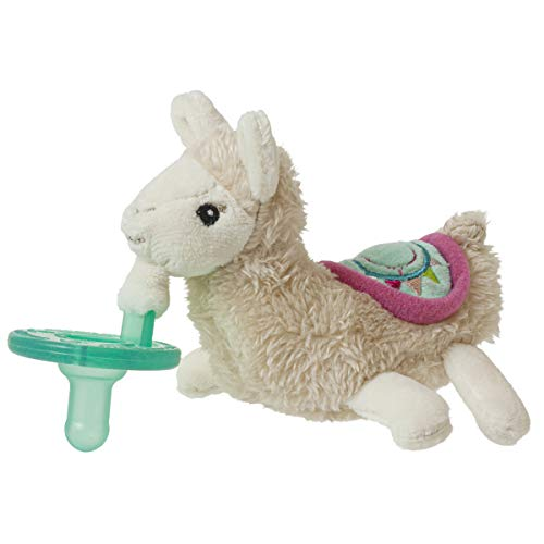 Mary Meyer WubbaNub Soft Toy and Infant Pacifier, Lily Llama