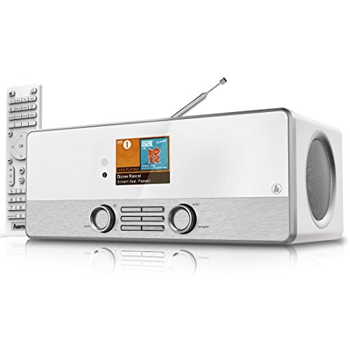 Hama Internetradio Digitalradio DIR3110MS (Spotify, WLAN/LAN/DAB+/FM, 2,8