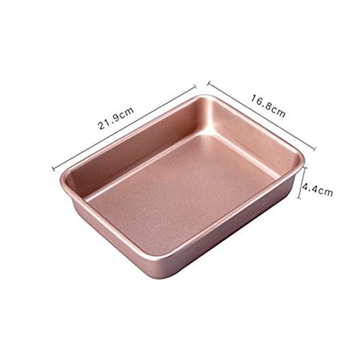 Bakplaat, bakplaat, sneeuwvlok, zonder suiker, gebrand, antiek gecoat, broodvorm voor koekjes, rechthoekig