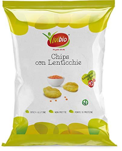 Vivibio Chips con Lenticchie senza Glutine Bio - 35 g