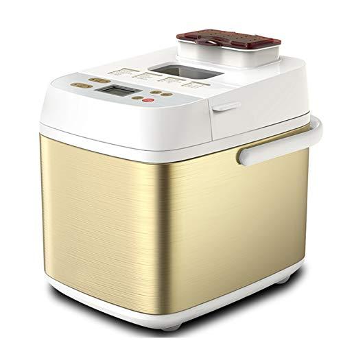 N / A Automático multifunción Mini Máquina de Hacer Pan Inteligente fácil de Usar panificadora automática Breadmaker Utensilios de Cocina 550w