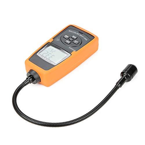 Medidor de propano Sensor Probador de gas natural Detector de metano Probador de metano Analizador Calidad del aire con alarma de luz y sonido 0 a 10000ppm 0 a 20% LEL para metalurgia