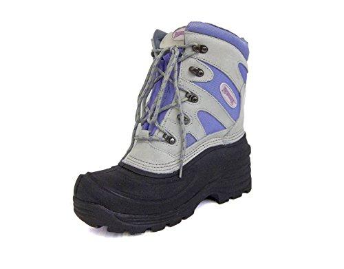 Ranger Womens A697 Lark Pac Boot,White/Violet (8)