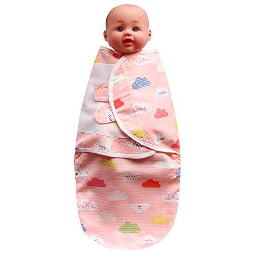 B/H Gigoteuse Hiver Bebe Fille Garcon,Serviette de bébé en Gaze Anti-Choc,Sac de Couchage Nouveau-né câlin bébé Rose A_S,Gigoteuse bébé Hiver Garcon Fille