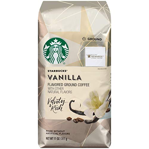 Starbucks Natural Fusions Vanilla Ground Coffee, 11 Ounce / 311 g (1pack)