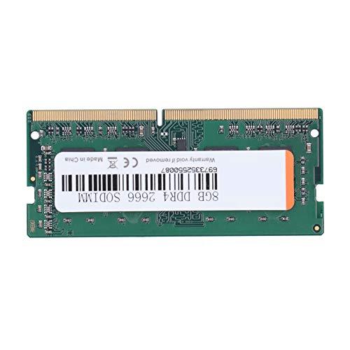 Zunate Modulo di Memoria RAM, DDR4 4 GB / 8 GB / 16 GB 266 MHz PC4-21300 Memoria RAM a 260 Pin per Computer Desktop, Memoria RAM WALRAM Piena Compatibile per Intel/per AMD(8 GB)