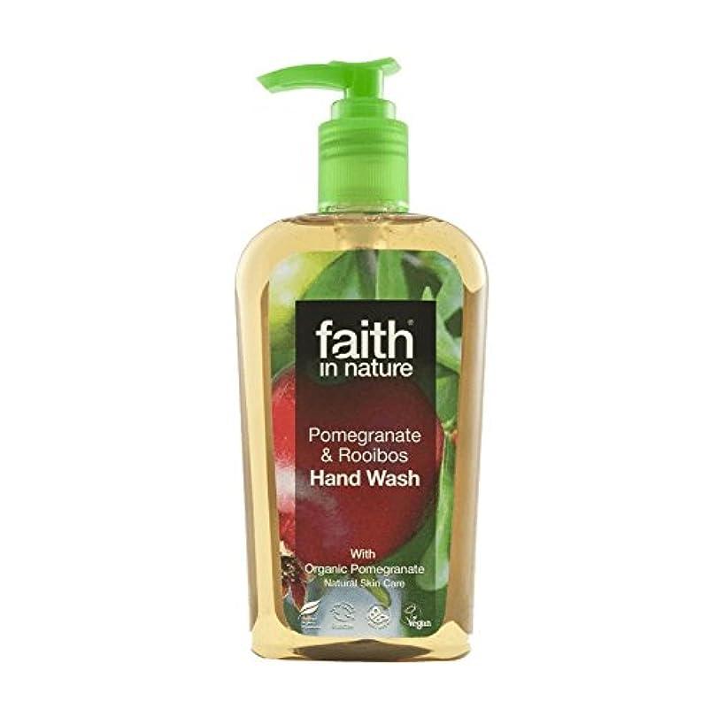 装備する差別化するアンペア自然ザクロ&ルイボス手洗いの300ミリリットルの信仰 - Faith In Nature Pomegranate & Rooibos Handwash 300ml (Faith in Nature) [並行輸入品]