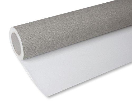 Arte & Arte (aruxb) 100% Extra hasta H rollo de lienzo de pintura, algodón, blanco, lungh. MT.10-h. cm.105