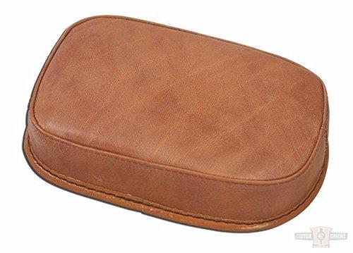 Sellino universale marrone in pelle liscio - ventose Sellino passeggero universale con sei ventosedimensioni: lungo 27cm x 19.5cm larghezza x 5cm altezza