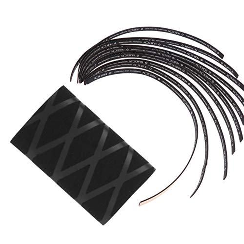 lahomia Mango Robusto para Paleta de Tenis de PingPong Bat Edge Wrap Cover Overgrip Black