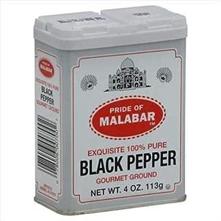 Malabar Ground Black Pepper 4oz(113g)