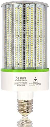 480Volt 347Volt LED Light Bulb 150W E39 Mogul Base Led Corn Cob Bulbs High Lumen 21000LM 5000K product image