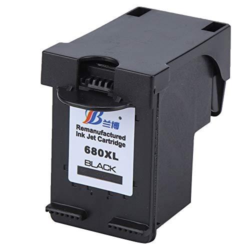 Cartucho de tinta para impresora HP Deskjet 1115 1118 2135 2138 4538 4678 (680 negro) cartucho de tinta para HP