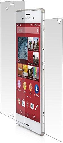 StilGut Displayschutzfolie aus Hartglas (V2) für Sony Xperia Z3 (Front und Rückseite)