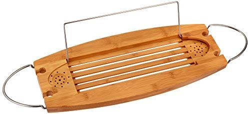 AmazonBasics pont de baignoire en bambou standard