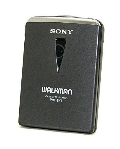 SONY ソニー WM-EX1(B) ブラック カセットウォークマン(ポータブルカセットプレーヤー)再生専用機 Dolby NR装備