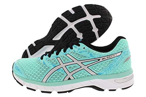 ASICS Women's Gel-Excite 4 Running Shoes, 8M, Aruba Blue/Silver/Aquarium