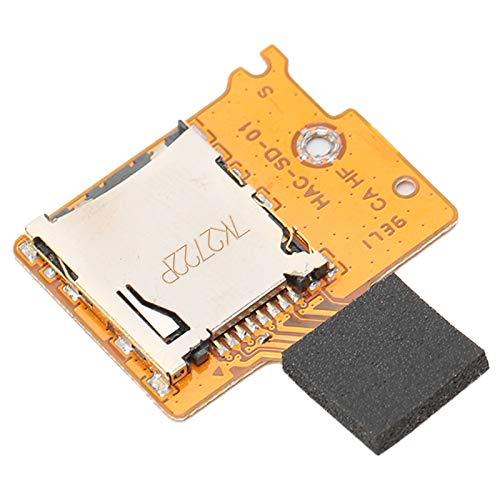 ASHATA Ranura para Tarjeta Micro TF SD para Consola de Juegos Switch Lite, Pieza de reparación de Repuesto de Ranura para Tarjeta Micro TF SD Interna para Switch Lite