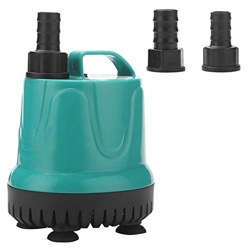 WFIT Bomba De Circulación De La Bomba De Agua Sumergible con 3 Boquillas para Jardín Drenaje Acuario Fish Tank Fuente Estanque 18w