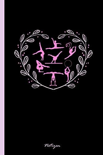 """Notizen: Notizbuch, Journal & Tagebuch Für Turnerinnen, Turner, Turn-Athleten - Geschenk Für Kinder, Schule & Freizeit, weit liniert (120 Seiten, 6x9\"""")"""