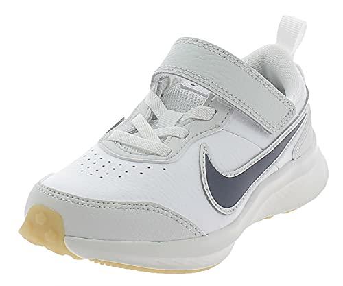 Nike CN9393-100-12C, Scarpe da Corsa Unisex-Bambini, Bianco, 29.5 EU