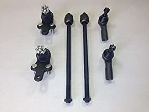 6 Piece Kit Lower Ball Joint Inner & Outer Tie Rod Ends