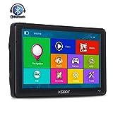 Touch Screen ad Alta Definizione 8 GB 7 Pollici con mappe UK e EU per aggiornamenti gratuiti a Vita Navigatore satellitare GPS per Auto XGODY 886F