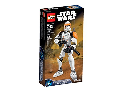 LEGO Star Wars 75108 Clone Commander Cody Building Kit by